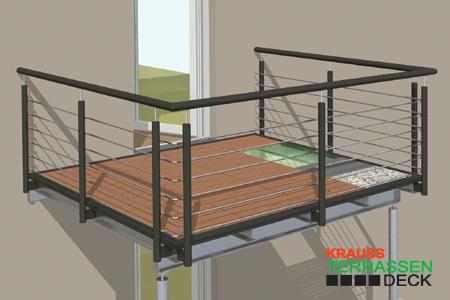 Terrasse Mit Geländer terrassen gelaender direkt vom fachbetrieb krauss gmbh, krauss