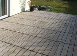Terrassen Belaege Aus Douglasie Holz Rollroste Von Krauss Gmbh