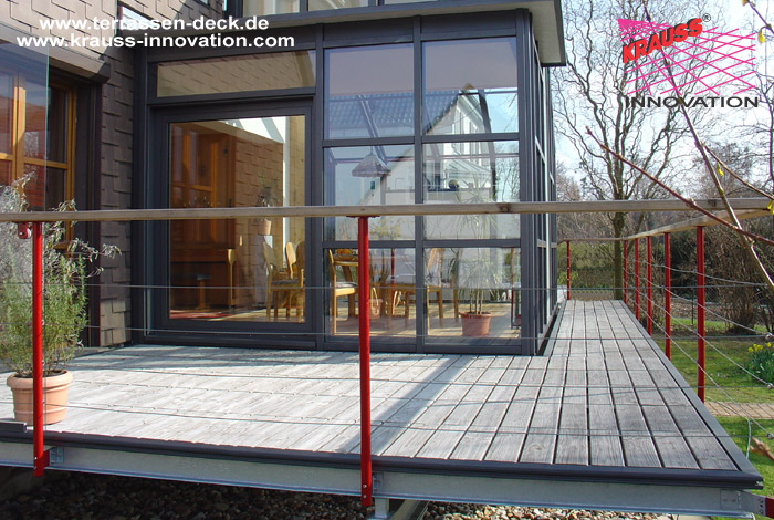 Balkon Terrassen Deck Mit Windschutz Direkt Vom Hersteller Krauss