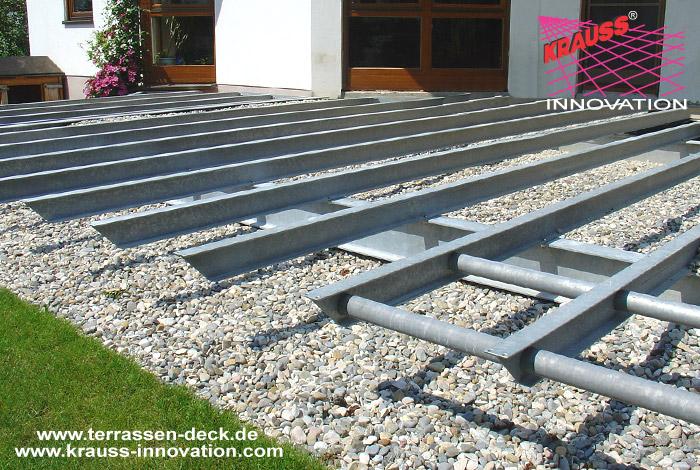 Terrassendeck Mit Umlauf Und Wintergarten Direkt Vom Hersteller